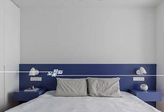 富裕型130平米三室两厅北欧风格卧室装修案例