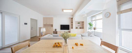 富裕型120平米三室两厅地中海风格餐厅欣赏图