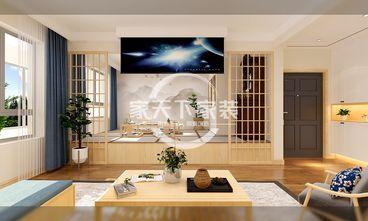 一居室日式风格客厅装修效果图