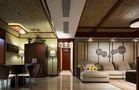 经济型120平米三室两厅东南亚风格客厅图