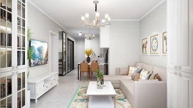 20万以上80平米欧式风格客厅图片