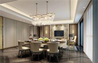 100平米三室两厅公装风格餐厅图