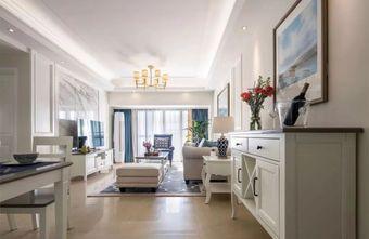 10-15万三美式风格客厅装修案例