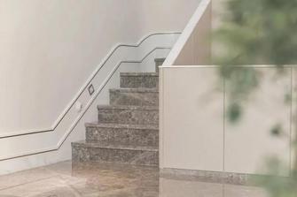 140平米别墅轻奢风格楼梯间设计图