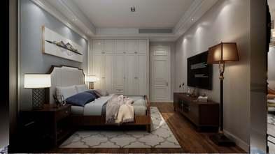 富裕型100平米三室一厅美式风格卧室效果图