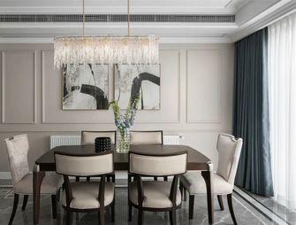富裕型100平米三室一厅轻奢风格餐厅欣赏图