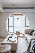 富裕型110平米日式风格客厅装修效果图