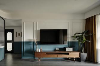 100平米三新古典风格客厅效果图