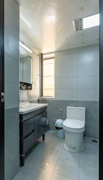富裕型100平米三室一厅现代简约风格卫生间图