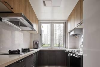 110平米三室两厅日式风格厨房装修图片大全