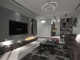 富裕型120平米三室两厅轻奢风格客厅图片