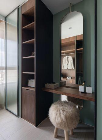 80平米三室两厅混搭风格衣帽间效果图