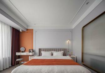 富裕型100平米三室一厅欧式风格卧室效果图
