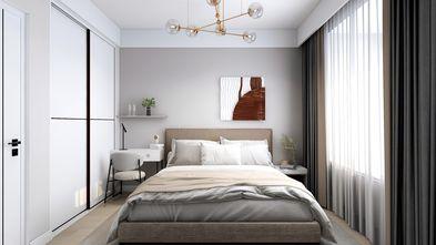 富裕型80平米三室两厅地中海风格卧室图片