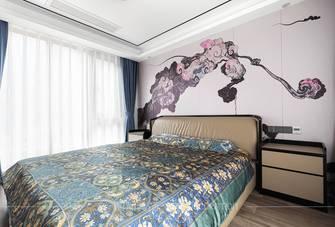 130平米四中式风格卧室效果图