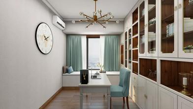 经济型140平米四室两厅欧式风格书房欣赏图