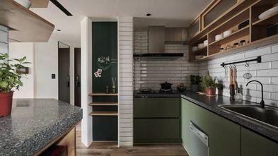15-20万140平米三室两厅工业风风格厨房装修图片大全