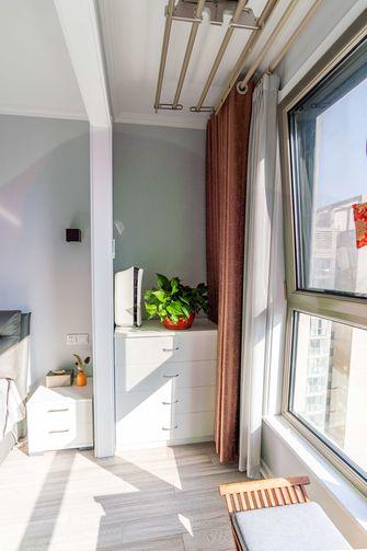 20万以上130平米三室一厅现代简约风格阳台装修效果图