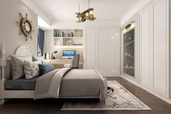 豪华型110平米三室一厅美式风格卧室装修效果图