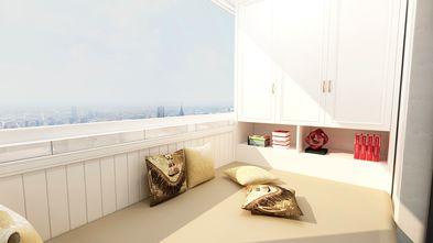 90平米三室一厅欧式风格阳台效果图