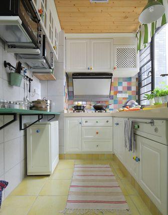 经济型90平米田园风格厨房装修效果图