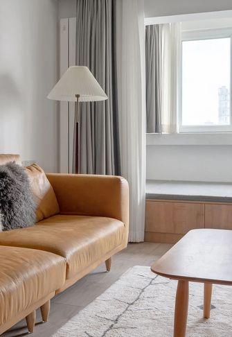 80平米一室两厅北欧风格客厅装修效果图