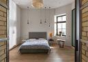 豪华型90平米三室一厅工业风风格卧室装修效果图