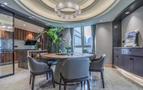豪华型140平米四室两厅混搭风格餐厅装修图片大全