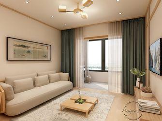 15-20万100平米三室一厅日式风格客厅图片大全