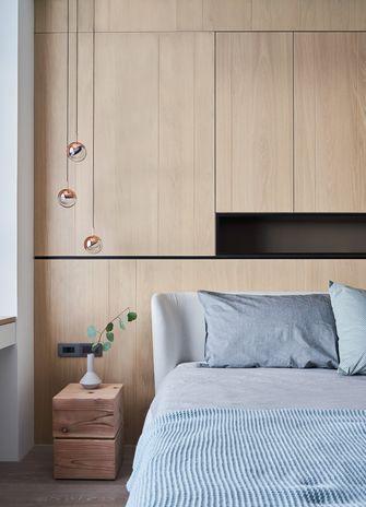 豪华型140平米三室一厅工业风风格卧室设计图