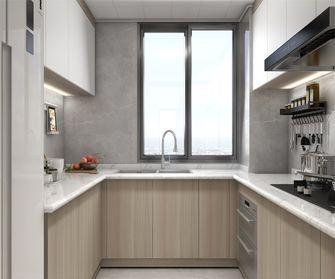 豪华型130平米复式现代简约风格厨房装修图片大全