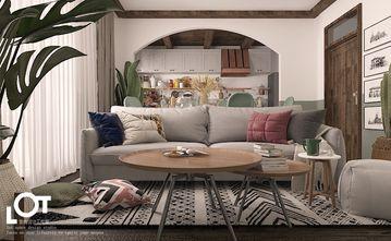 经济型120平米田园风格客厅图片