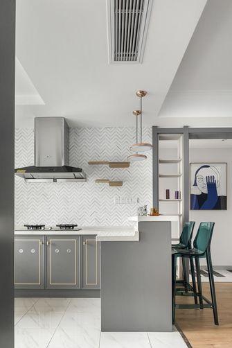 110平米三法式风格厨房欣赏图