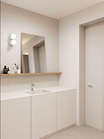 经济型60平米三室一厅北欧风格卫生间图