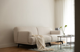 90平米法式风格客厅装修效果图