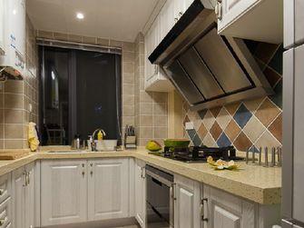 富裕型100平米三室两厅新古典风格厨房图