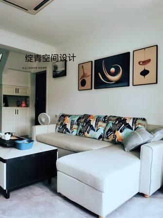 10-15万110平米三室一厅现代简约风格客厅图片大全