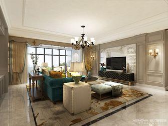 140平米美式风格客厅欣赏图