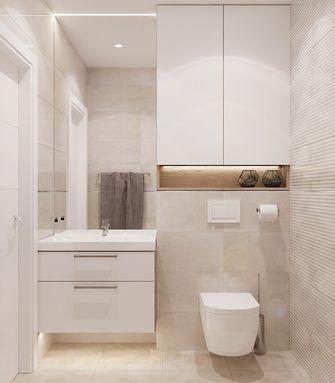 5-10万70平米公寓北欧风格卫生间图片