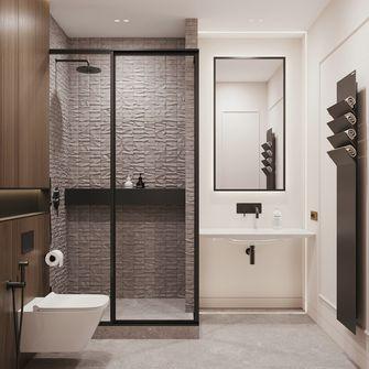 豪华型120平米四室两厅现代简约风格卫生间图片