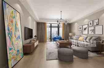豪华型130平米四北欧风格客厅图片大全