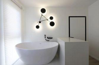 富裕型50平米公寓现代简约风格卫生间图片