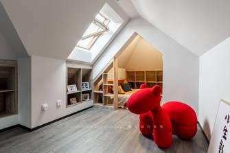 豪华型140平米别墅轻奢风格阁楼设计图