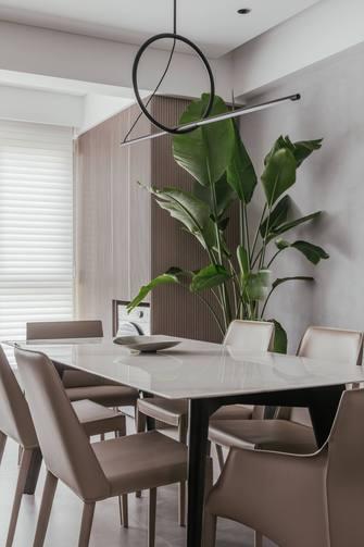 经济型140平米现代简约风格餐厅图片