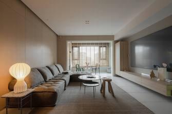 经济型140平米复式日式风格客厅图片