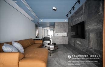 富裕型60平米工业风风格客厅装修图片大全