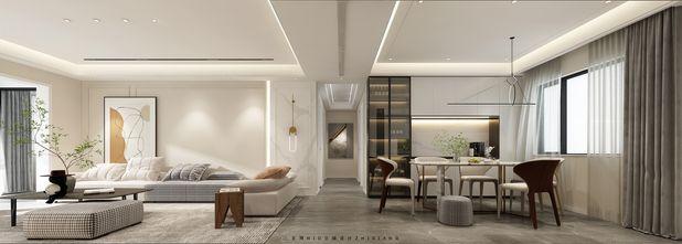 20万以上140平米四现代简约风格客厅图