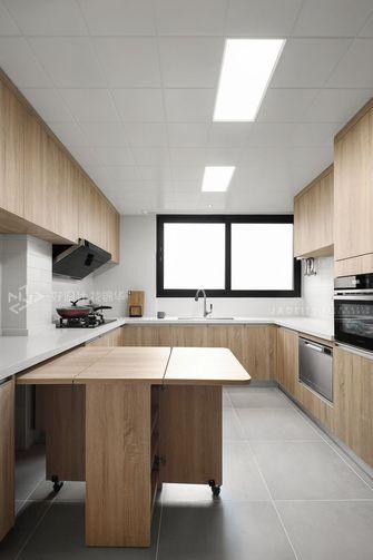 120平米三室一厅日式风格厨房装修效果图