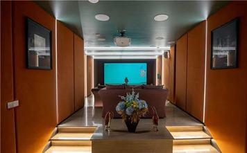 140平米四室一厅法式风格影音室设计图