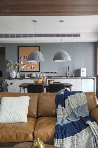 富裕型90平米三室两厅港式风格客厅装修图片大全